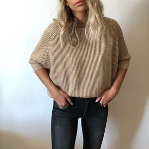 {Chico's} knit short sleeve sweater